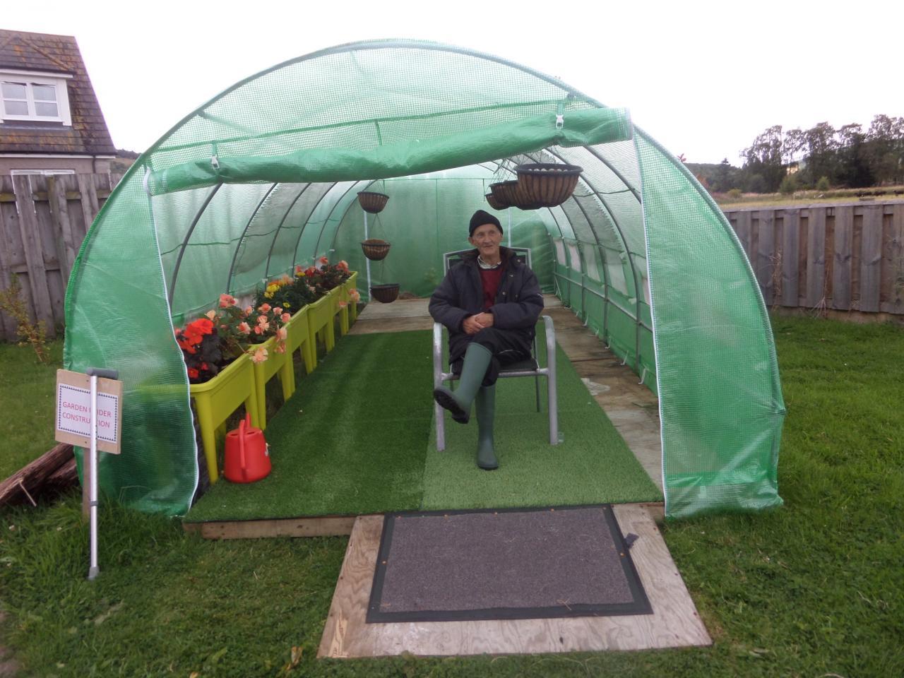 Gardening in Drumdarroch